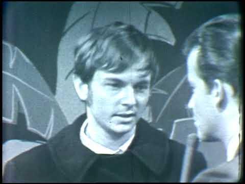 American Bandstand 1966- Interview 13th Floor Elevators