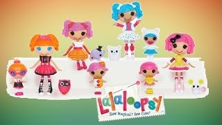 Lalaloopsy Mini Dolls ABC Sisters Collection