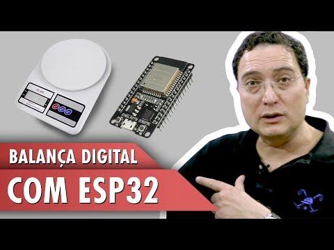 Balança digital com ESP32