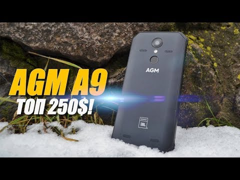 AGM A9 - смартфон с 4 динамиками JBL!!!