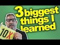 3 Biggest Things I Learned- Grant Cardone