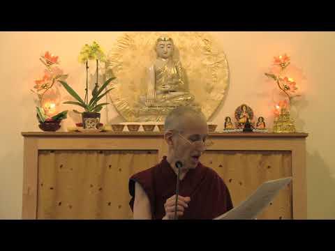Amitabha practice: Refuge visualization