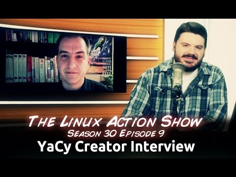 YaCy Creator Interview | Linux Action Show s30e09