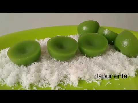 Resep Kue Lumpang Kenyal Manis Dan Gurih Youtube