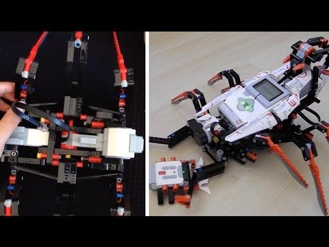 Lego Mindstorms EV3 Scorpion (Spik3R) Assembling & Run ...