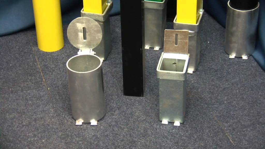 Ultra Secure Direct Removable Security Parking Post Video