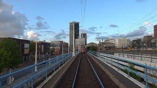 HTM tramlijn 12 Den Haag Duindorp - Station Hollands Spoor / Rijswijkseplein   GTL8 3104   2019