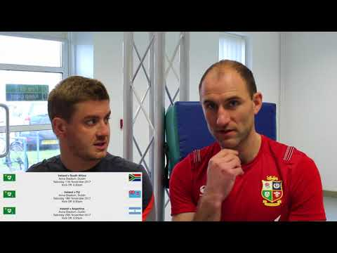 Autumn Rugby Internationals 2017- Home Nations Preview