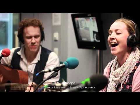Anathema's Lee and Danny perform an acoustic version 'Oh Darling', at BBC Radio Merseyside