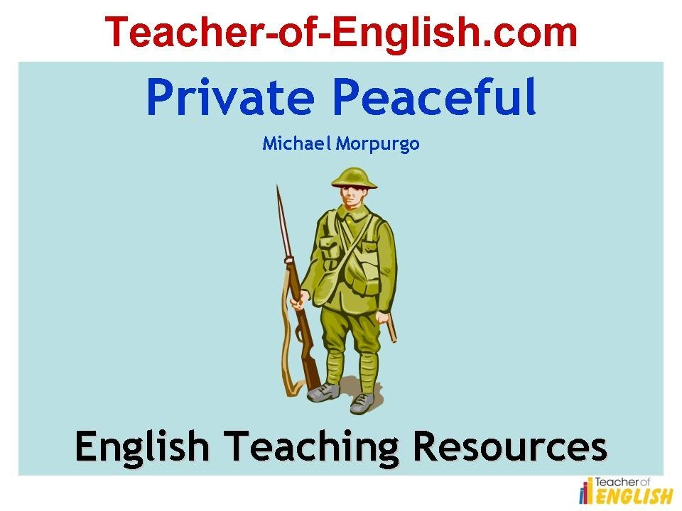 private peaceful essay conclusion Private peaceful the book that i have recently read in class is private peaceful  by michael morpurgo the book is  the essay task is to explore how tommo  and charlie's relationship develops over the course of the novel  conclusion.