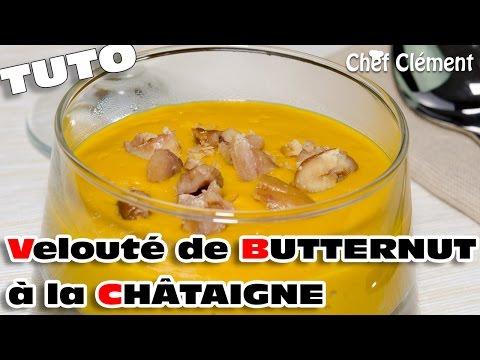 recette-de-saison-:-velouté-de-courge-butternut-et-chÂtaigne---chef-clément