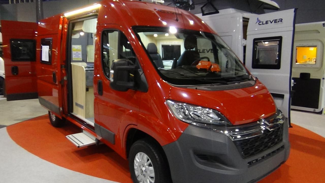 Trastornado Gran engaño Torrente  2017 Clever Tour 540 Citroen - Exterior and Interior - Caravan ...