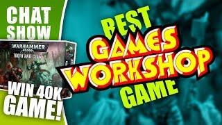 Weekender: Win A GW Starter Box! Which Games Workshop Game Is Best?