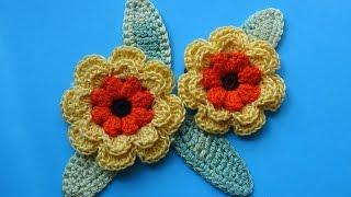 Crochet flower Вязаные цветы 80(ТОВАРЫ ДЛЯ ВЯЗАНИЯ от производителей* http://ali.pub/i9grj Crochet flower Вязаные цветы 80 Хочешь получать новые видео..., 2016-04-27T08:50:54.000Z)