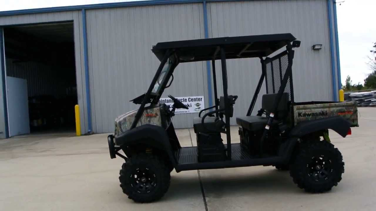 Mule Trans Camo Lift Kit Steel Top Windshield