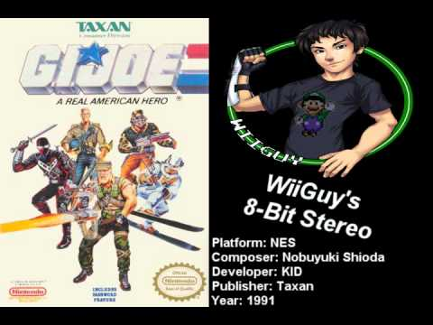 G.I. Joe A Real American Hero (NES) Soundtrack - 8BitStereo