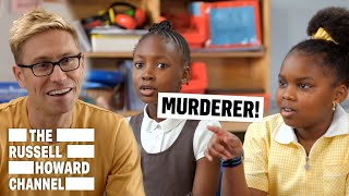 Kids Tackle Technology | Playground Politics | The Russell Howard Channel