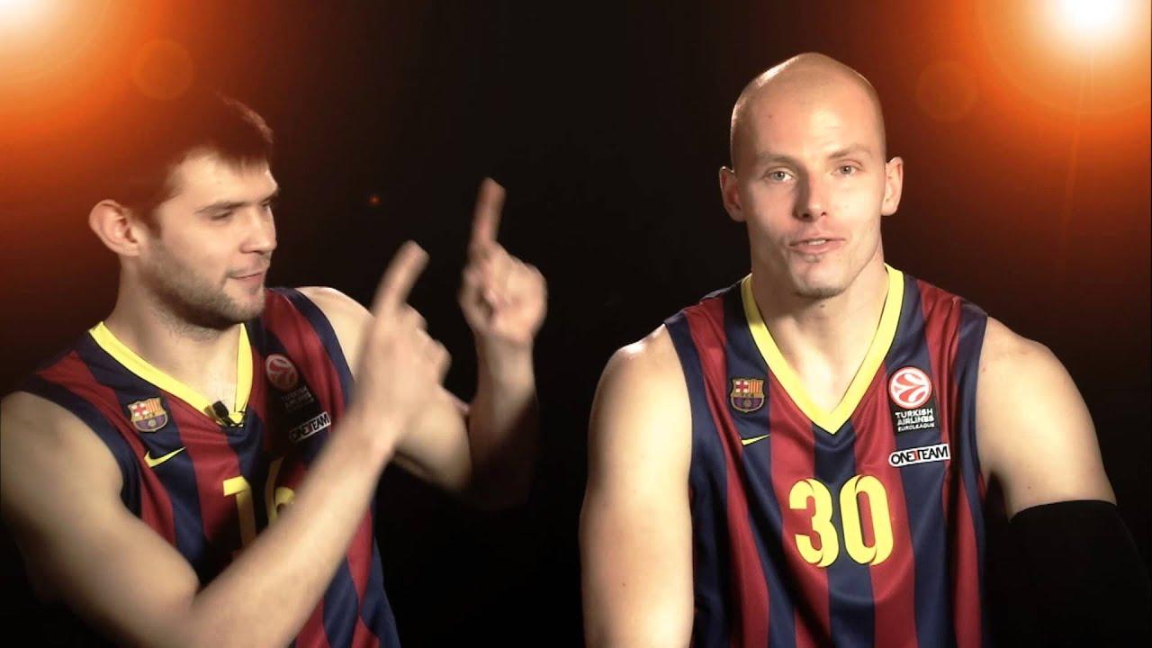 #IsingDevotion Players Contest: Kostas Papaniklaou U0026 Maciej Lampe, FC  Barcelona