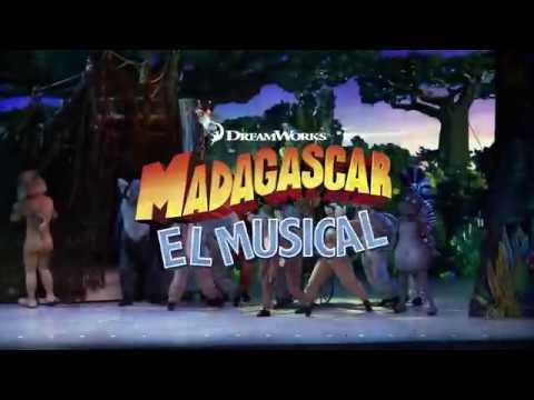 MADAGASCAR EL MUSICAL  (Teaser 02) - Teatro de la Luz Philips Gran Vía