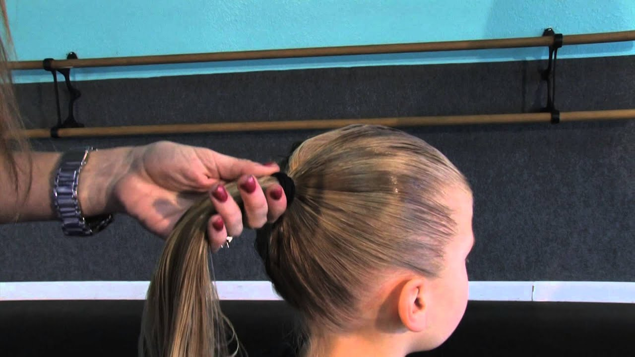 how to do recital hair - ballet & jazz classes
