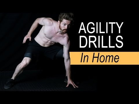 Top 3 Agility & Speed Drills (IN HOME)