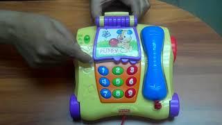 Teléfono De Arrastre Fisher Price Aprende Conmigo