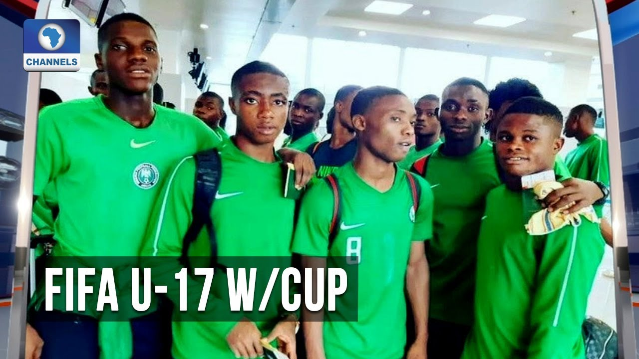 Golden Eaglets Arrive In Brazil Ahead Of FIFA U-17 World Cup