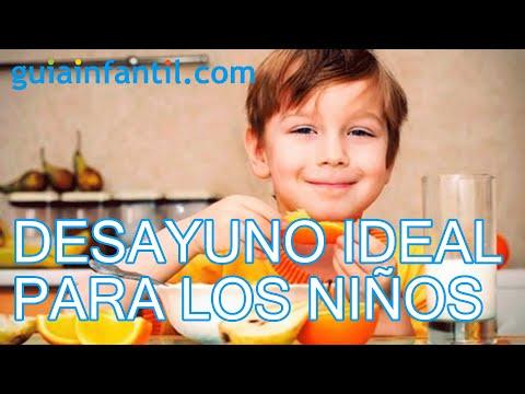 El desayuno ideal de los niños cómo tiene que ser