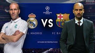 Zidane's Real Madrid VS Pep Guardiola's Barcelona - FIFA 19 Experiment