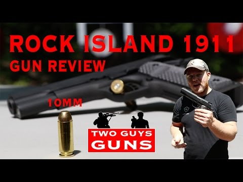 Rock Island 1911 Ultra Series 10MM | Gun Review