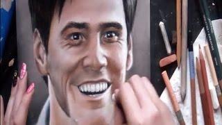 Drawing Jim Carrey