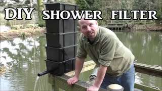 DIY Shower / Trickle Filter for a Koi / Fish Pond by PondGuru