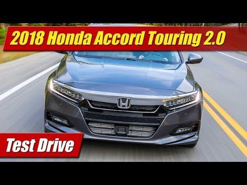 2018 Honda Accord Touring 2.0: Test Drive