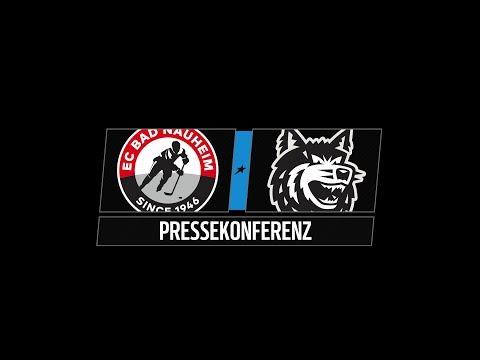 Pressekonferenz 24. Spieltag | EC Bad Nauheim vs. EHC Freiburg