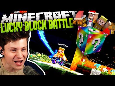 KEV HAT EIN RIESEN DING! :P | Minecraft LUCKY BLOCK BATTLE #11 | Dner