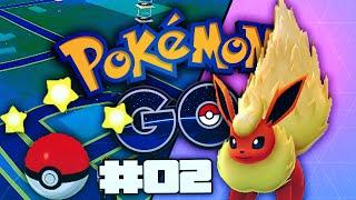 Pokmon GO Part 02 - EPIC EVOLUTION! EXPLORING & CATCHING POKEMON (Pokémon GO Walkthrough/Gameplay)
