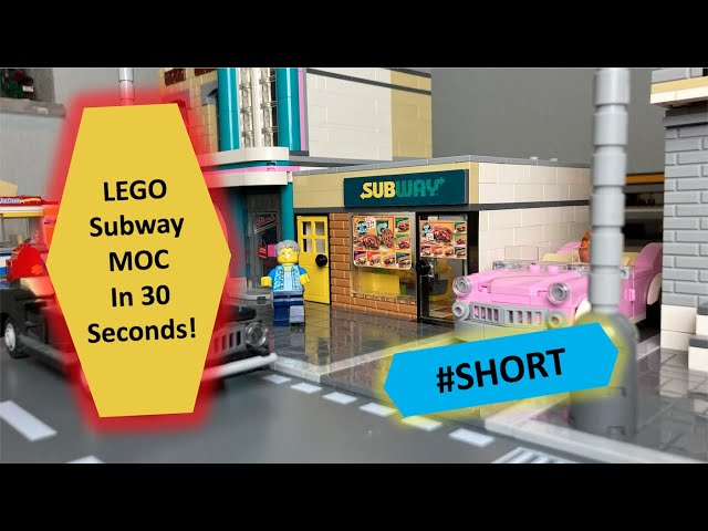 LEGO SUBWAY MOC - in 30 Seconds