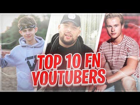 Top 10 Beste Nederlandse Fortnite YouTubers! thumbnail