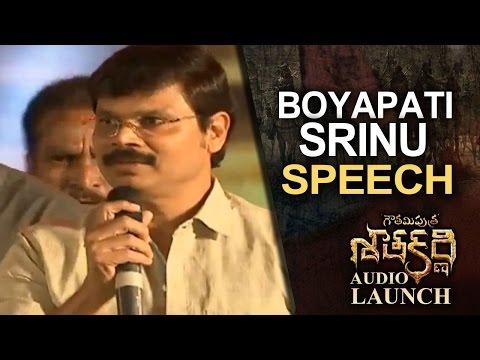 Boyapati Srinu Speech  Gautamiputra Satakarni  Launch  Lahari   T-Series