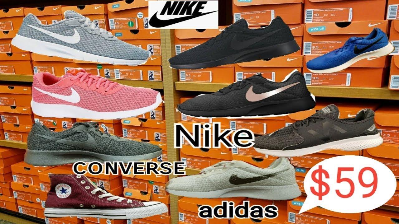 $59 ช๊อปปิ้งรองเท้าผ้าใบ adidas Nike converse ราคาถูก |ชีวิตในอเมริกา |แบรนด์เนม รองเท้าผ้าใบผู้หญิง