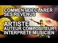 Capture de la vidéo Tuto Biz - Comment Déclarer Ses Revenus D'artiste Auteur Compositeur Interprète Musicien ?