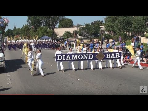 Diamond Bar HS - Solid Men to the Front - 2017 Duarte Route 66 Parade