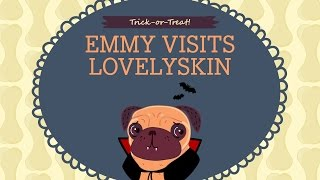 Emmy Goes Trick-or-Treating At LovelySkin Thumbnail