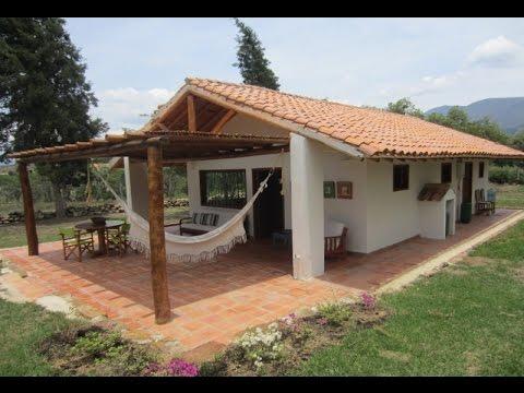 Caba a campestre azul en villa de leyva youtube for Planos de cabanas campestres