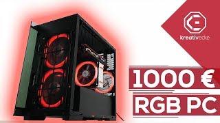 1000 Euro RGB GAMING PC 2018 (+ GEWINNSPIEL) - Invertiert und einfach GENIAL