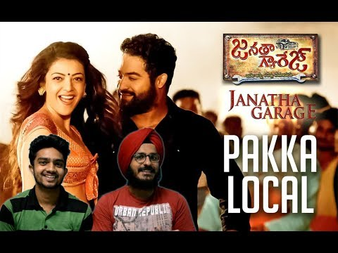 "Pakka Local Full Video Song Reaction |""Janatha Garage""