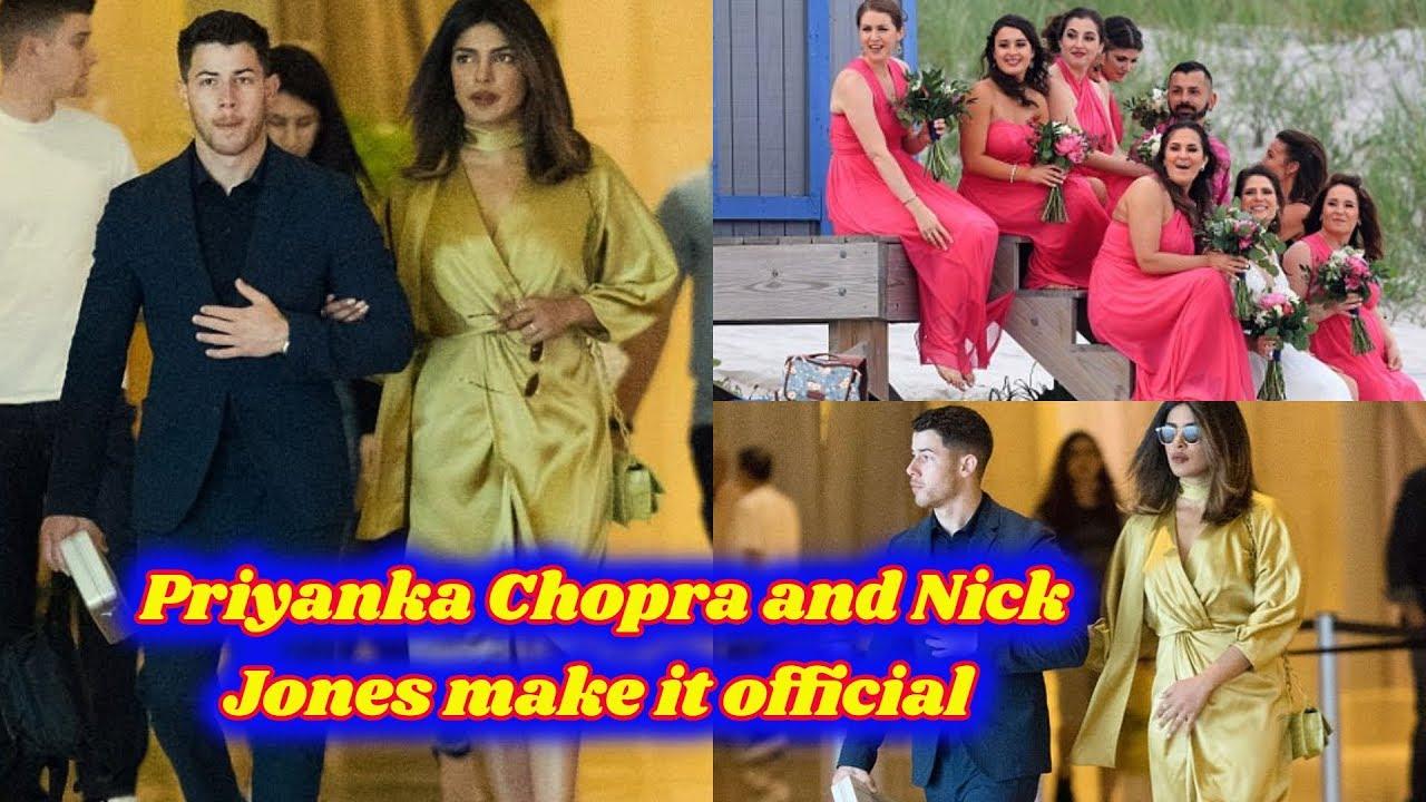 Nick Jonas and Priyanka Chopra dine at members-only club