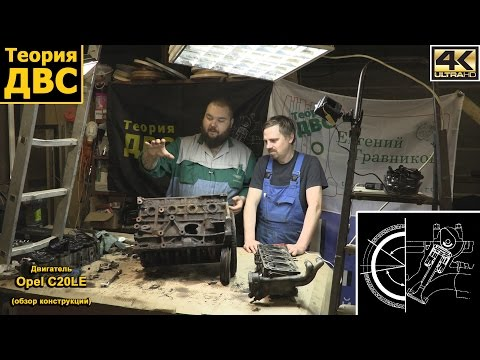 Теория ДВС: Двигатель Opel С20LE (обзор конструкции)