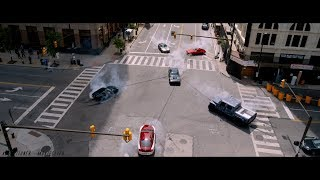 The Fate Of The Furious 8 | New York Car Battle [2017]