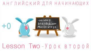 Англ. язык для детей и начинающих   Урок второй.1-ая часть.